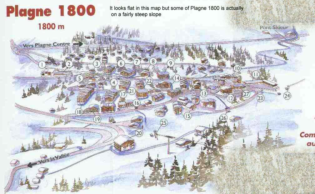 La Plagne 1800 v Les Coches Les Coches Now Booked snowHeads